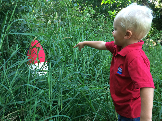 family travel blog meet roam the gnome- in the bush - found 2