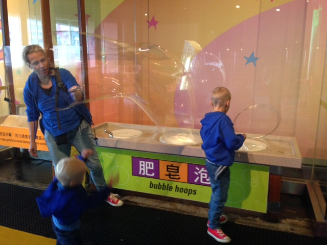 hong kong for kids bubble fun