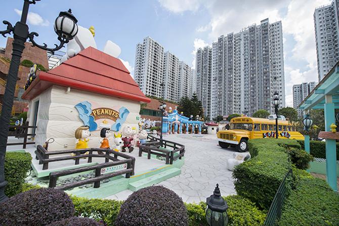 Snoopy Theme Park Hong Kong