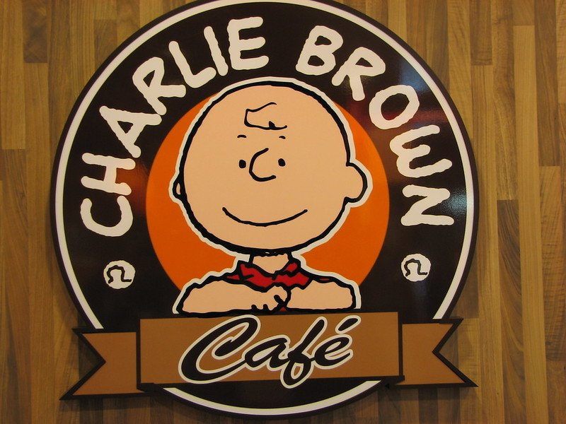 charlie brown cafe hongkong sign pic by ian muttoo