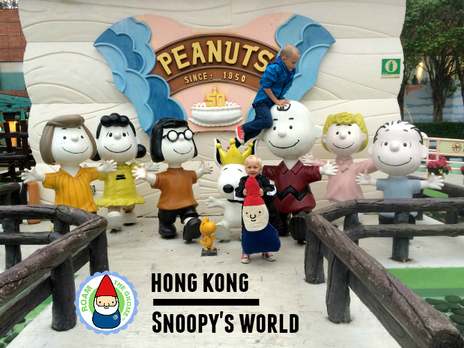 snoopy theme park characters RTG