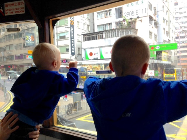 family day out hong kong ding dong tram
