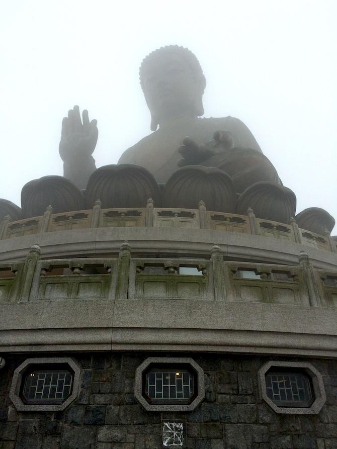 ngong ping 360 buddha in cloud