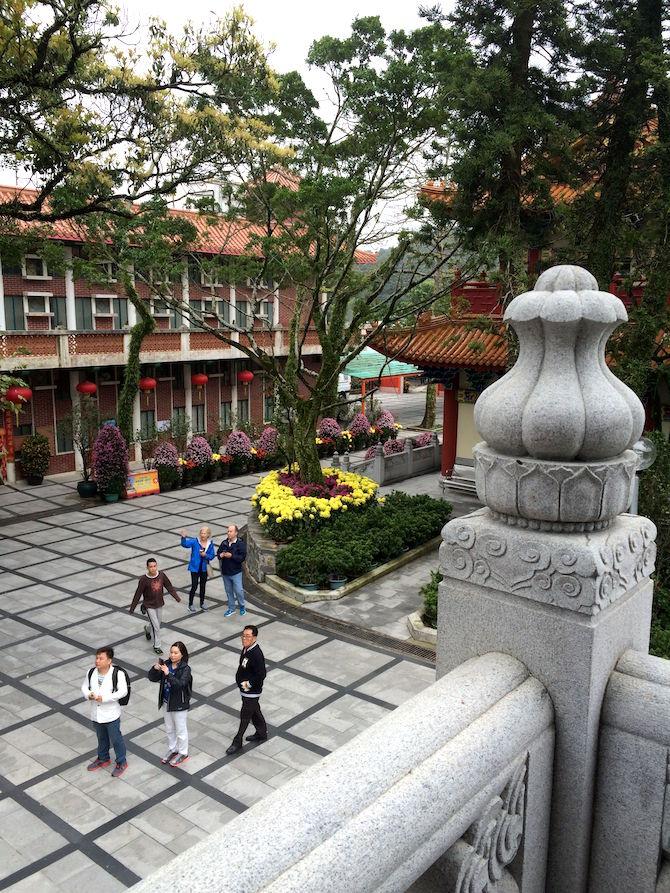 ngong ping 360 monastery