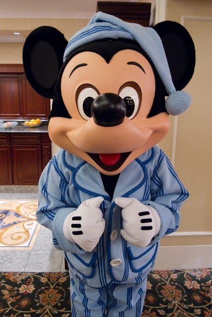 mickey in pyjamas hong kong