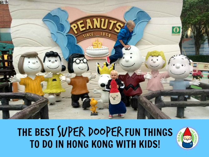 the top 10 things to do in hong kong with kids header