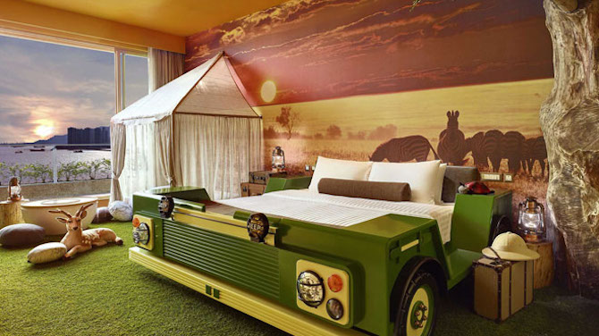 Top 10 Things to Do in Hong Kong with Kids -themed-room-safari