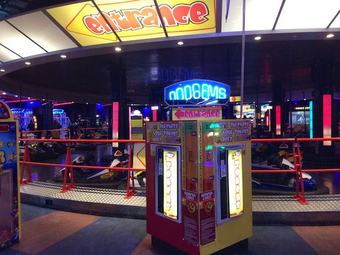 Namco Funscape London dodgems