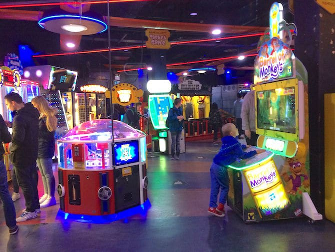 Namco London - Namco Funscape London Review