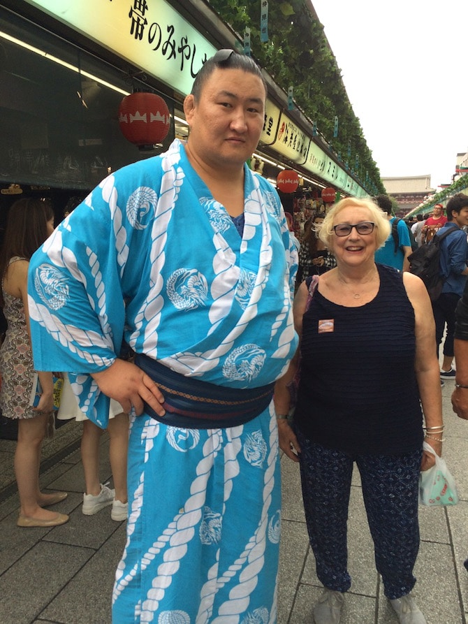 asakusa things to do sumo wrestler