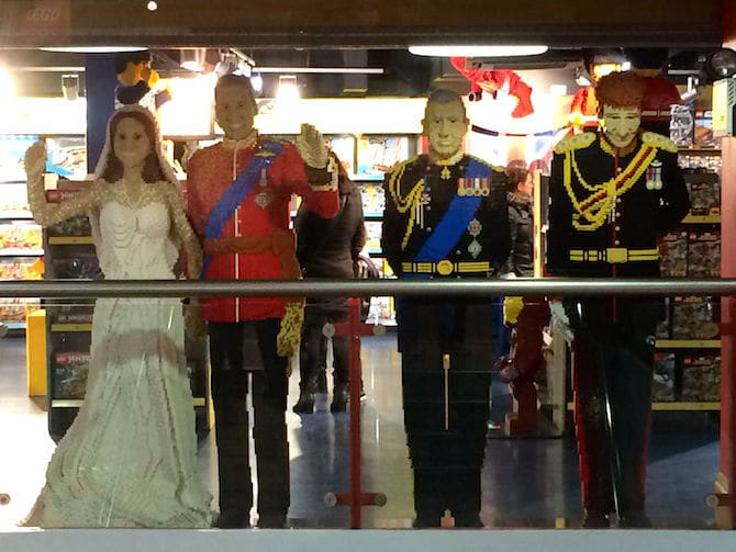 biggest toy store in london hamleys lego royal family