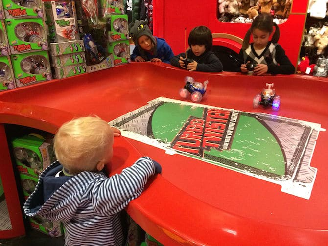 biggest toy store in london hamleys mechanical cars
