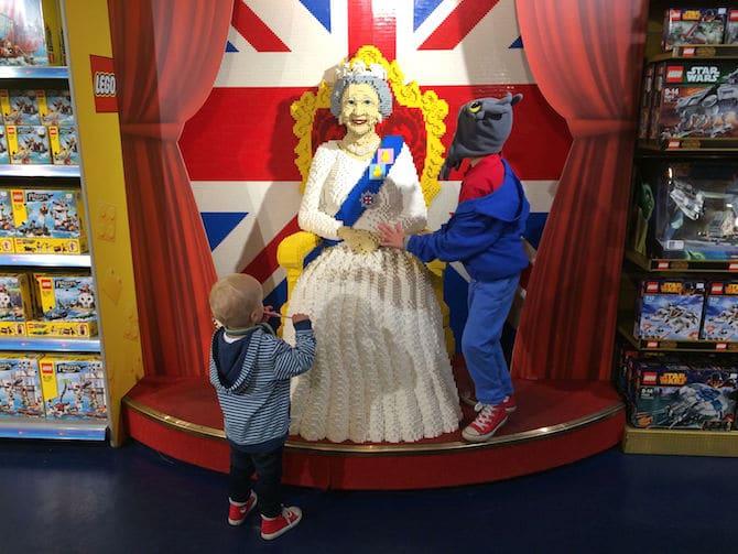 best toy store in london hamleys meet the lego queen