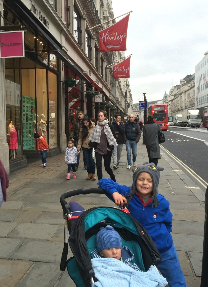 biggest toy store in london outside