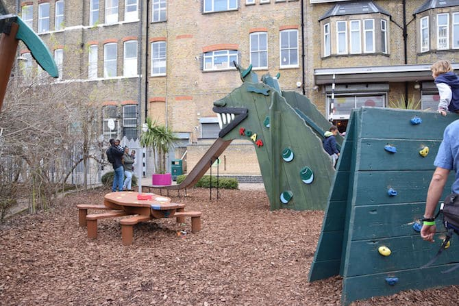 London with kids - Discovery Story Centre Stratford