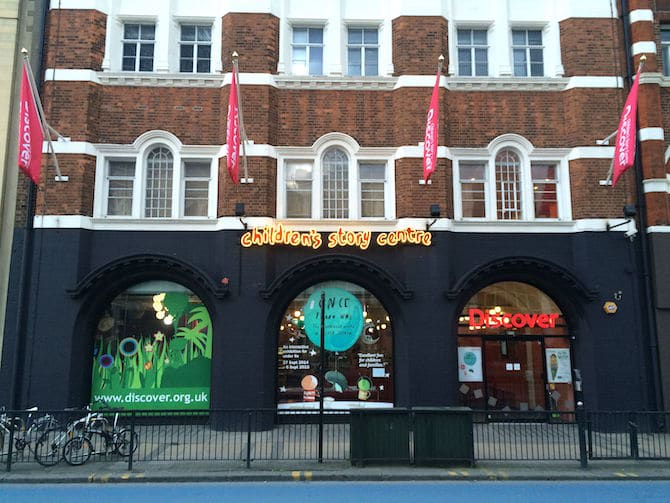 Things to do in stratford with kids - discover story centre london