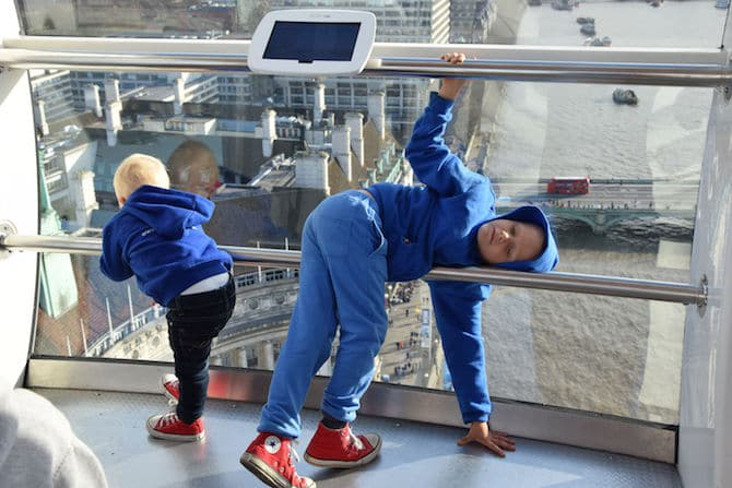 london eye for children gymnastics