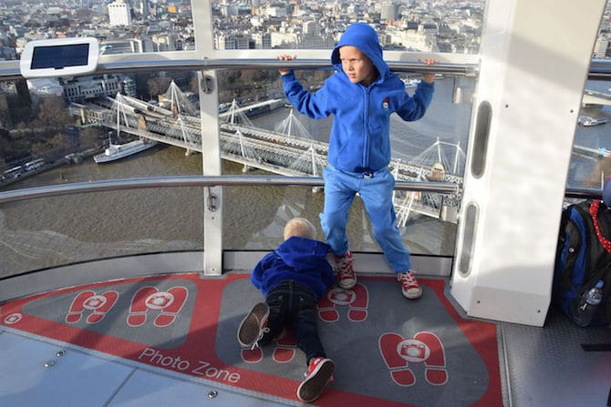 london eye for children