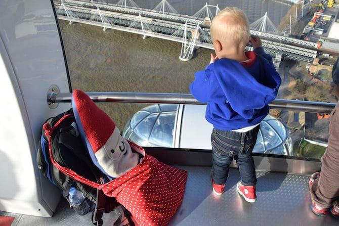 london eye for children roam the gnome