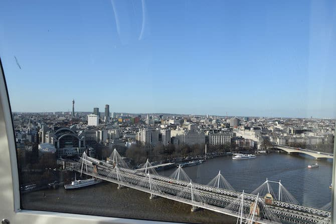 london eye experience for children view