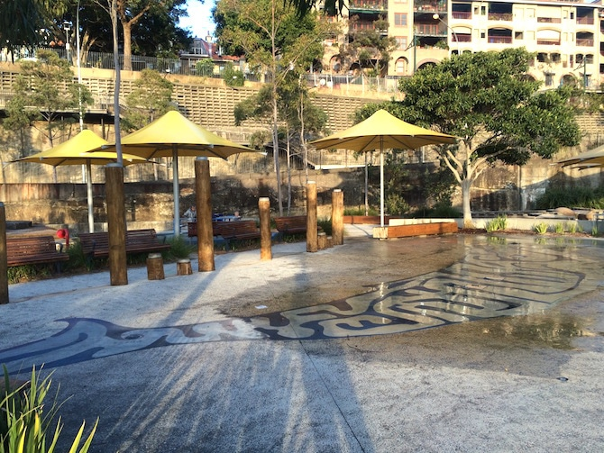 pirrama park playground water park