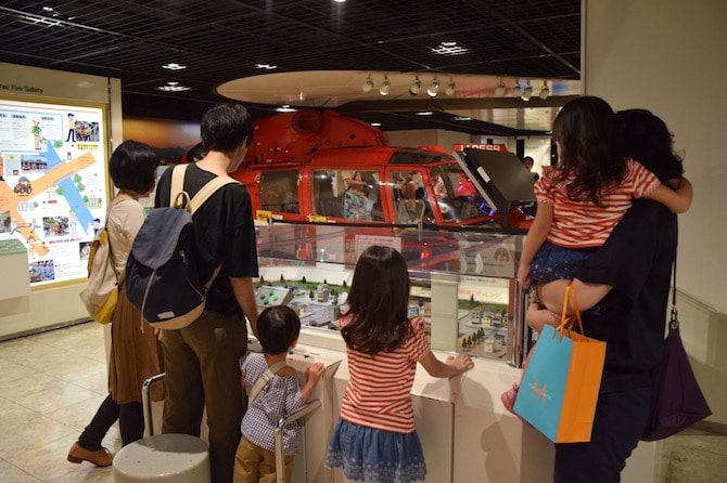 tokyo attractions for kids - tokyo fire museum gadgets