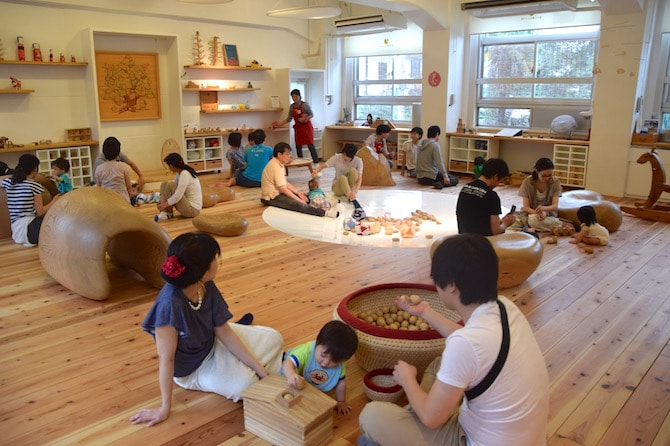 tokyo toy museum baby room