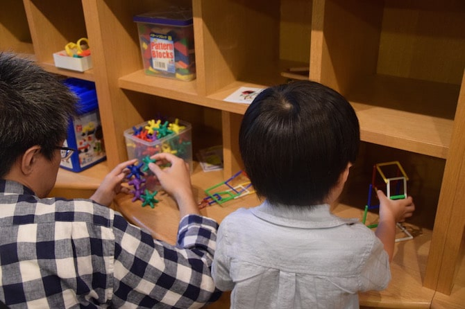 tokyo toy museum play with dad