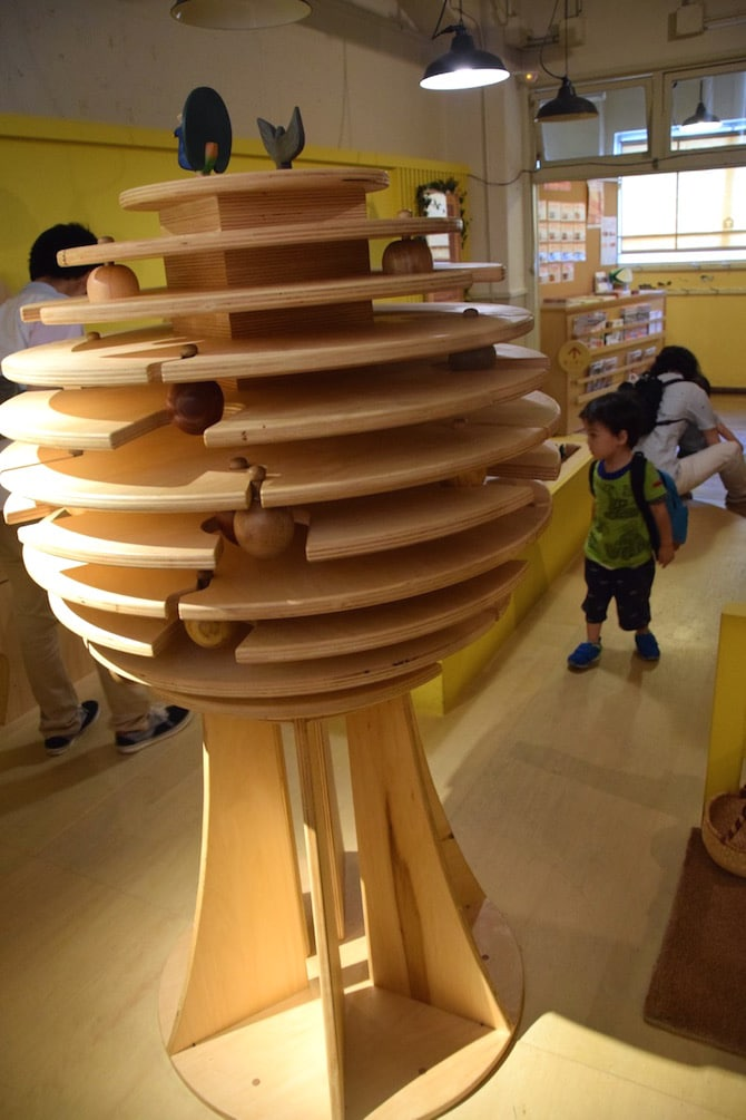 tokyo toy museum tree