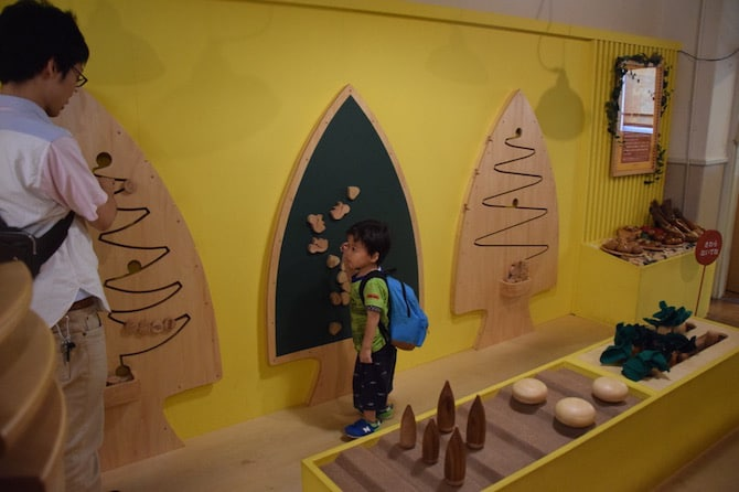 tokyo toy museum trees