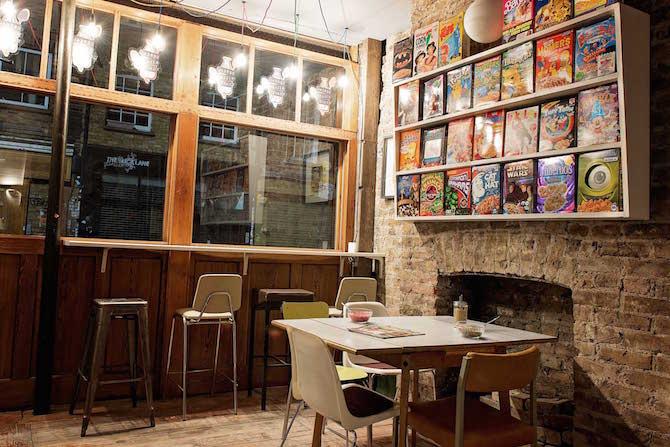 cereal killer cafe london united kingdom brick lane