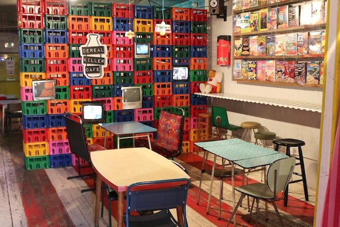 cereal killer cafe london united kingdom camden wall