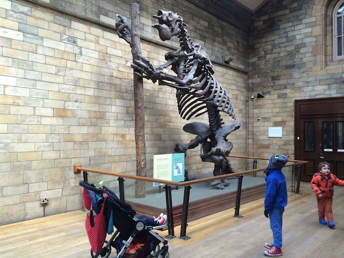 natural history museum for kids london with kids extinct mammal
