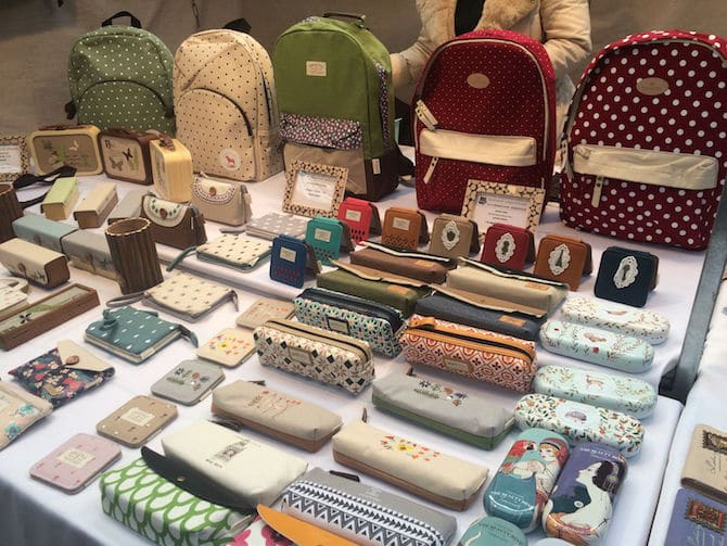 old spitalfields arts market london purses