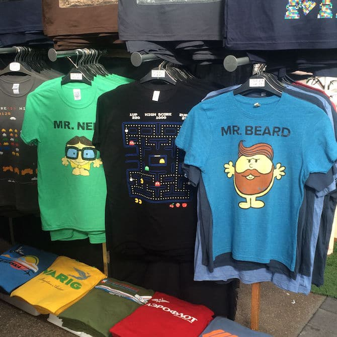old spitalfields arts market london tshirts