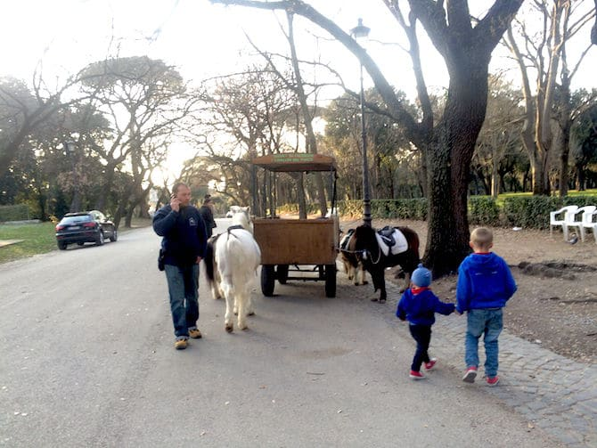 Borghese Gardens - Ride the Ponies. Visit www.roamthegnome.com. Our Family Travel Directory for MORE SUPER DOOPER FUN ideas for family-friendly weekend adventures and travel with kids, all over the world. Search by city. Rated by kids and our travelling Gnome.