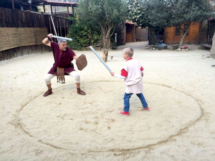 gladiator training in rome