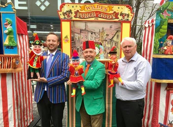 Punch and Judy festival covent garden 2019