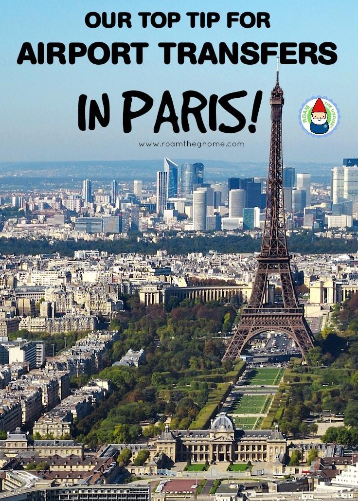 Airport Transfer Paris to CBD