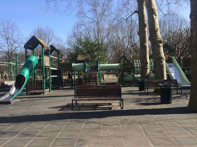 Jardin du Luxembourg Playground big kids.