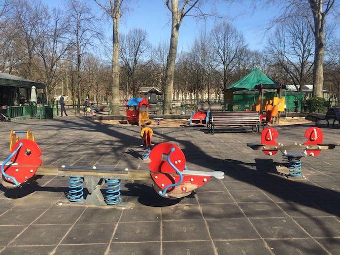 Jardin du Luxembourg Playground in 2016