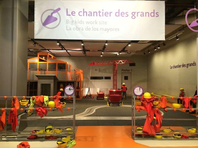 Paris Points of Interest - Cite des Enfants