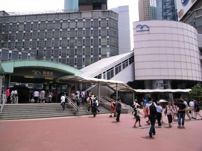 Odaiba Shimbashi station