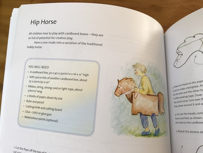 hip horse craft making the children's year