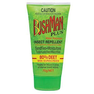bushman insect repellent gel plus