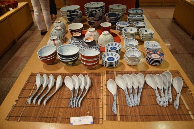 Japanese souvenirs ceramics