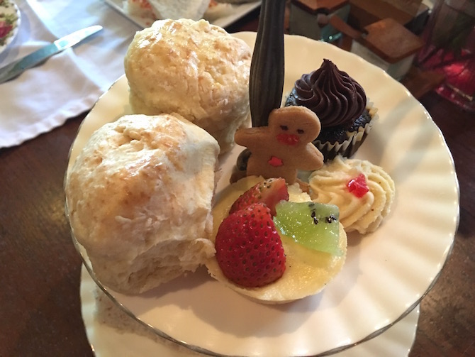 Roam the Gnome Family Travel Directory. Biku High Tea Cafe Bali Seminyak adult menu