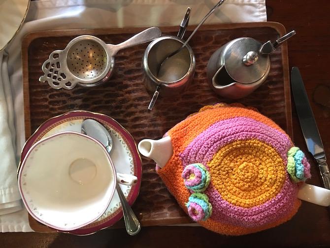 Roam the Gnome Family Travel Directory. Biku High Tea Cafe Bali Seminyak - tea choices.