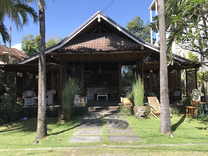 Roam the Gnome Family Travel Directory - Visit CARGA Homewares in Bali next to Biku Bali