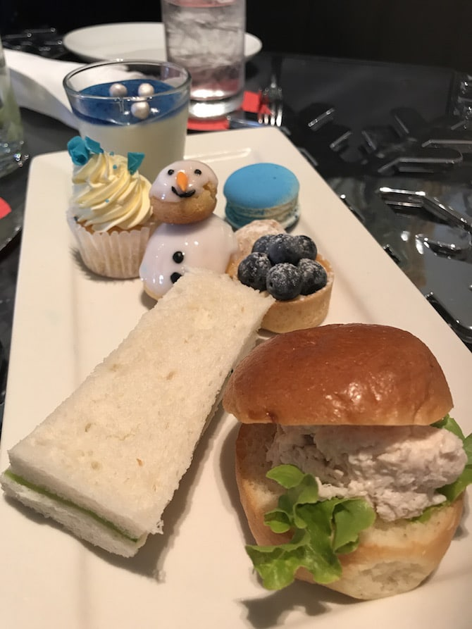 Sofitel Sydney Wentworth High Tea Meal